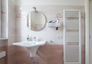 bagno camera albergo